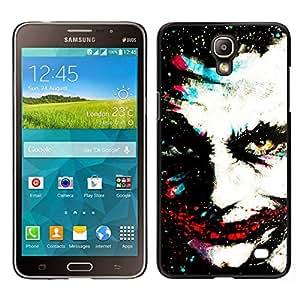 YiPhone /// Prima de resorte delgada de la cubierta del caso de Shell Armor - Monster Clown Greepy Cara Villano Blanca - Samsung Galaxy Mega 2