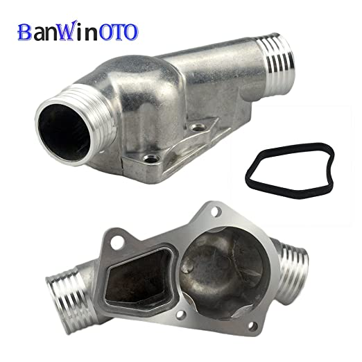 Amazon.com: Aluminum Thermostat Housing Cover with Gasket Brand New for BMW M3 Z3 E34 E36 11531722531 11531740437 Polished: Automotive