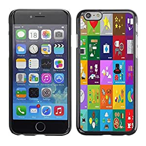 Dragon Case - FOR iPhone 6 - just do what you love - Caja protectora de pl??stico duro de la cubierta Dise?¡Ào Slim Fit