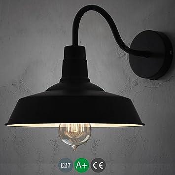 Lámpara De Pared Industrial E27 Lámpara De Pie Steampunk ...