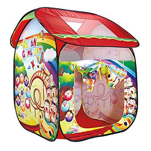 NAUY- Spielzeug & Spiele Kinder Spielzelt Spiel Playhouse Kinderspielzeug Spielhaus Portable Großes Indoor und Outdoor Kinderzelt (82 * 85 * 105cm)