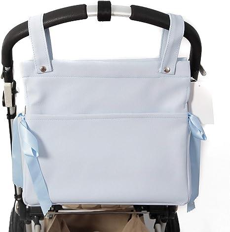 7015 Danielstore-Bolso talega Lactancia Polipiel.Color azul