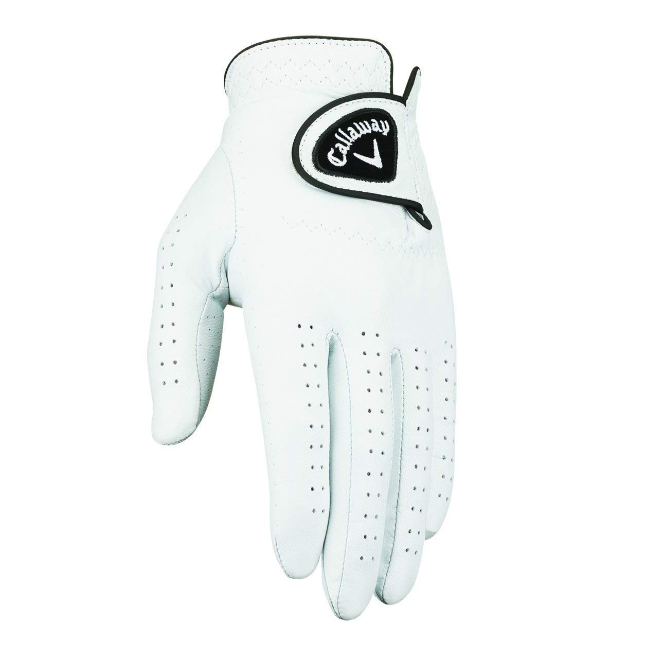 Callaway Men's Dawn Patrol Golf Glove (Women's Large 6 Pack-Master Carton, Worn on Right Hand)