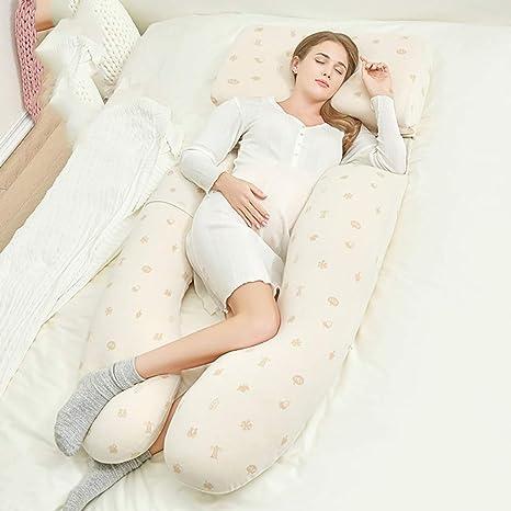 Ai Xin Shop Almohada de Dormir para Embarazadas y Mujeres ...
