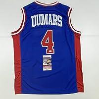 $149 » Autographed/Signed Joe Dumars Detroit Blue Basketball Jersey JSA COA