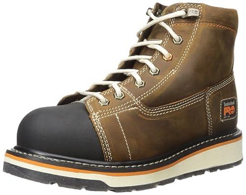 50cbc7874cb Timberland PRO Men s Gridworks 6 quot  Soft Toe EH Industrial    Construction Shoe
