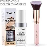 TLM 30ml Flawless Farbwechsel Concealer Abdeckung mit Make-Up Pinsel Kabuki Schminkpinsel Kosmetikpinsel Foundation Pinsel By SIGHTLING