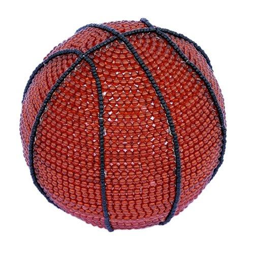 (Grass Roots Creations Basketball Nightlamp Beadworx Sculpture)