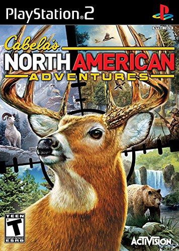 Top Gun Ps2 - Cabela's North American Adventures 2011 - PlayStation 2