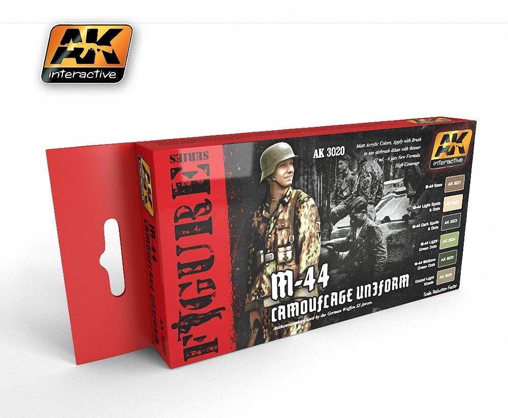 AK Interactive - M-44 Camouflage Uniforms - AK03020