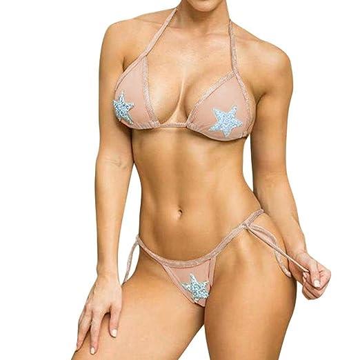 5dd51995de Amazon.com  WM   MW Bikini Swimsuit for Women