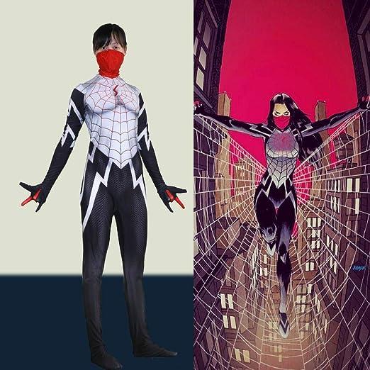 COSPLA Marvel Enmascarado Mujer Traje De Cosplay De Spiderman ...