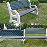 Amaze Garden, Lounge Swimming Pool Outdoor Waiting Lounge Chair Bench (5' Long, 3 Seats)