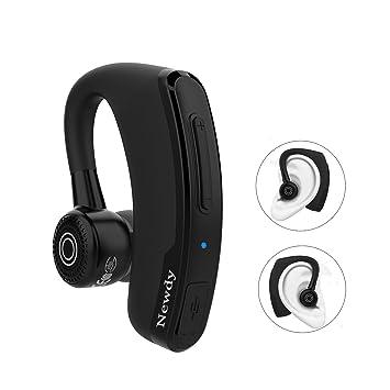 Auricular Bluetooth, de IAVCC, auricular inalámbricos Bluetooth, manos libres, distancia de conexión