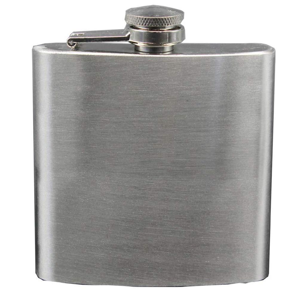 Beh/älter Wasserflasche 1pc Xiton Tragbare Flagon Edelstahl Mini Weinflasche im Freien Schnaps Flasche Getr/änke