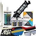 Concrete Foundation Crack Repair Kit - Ultra-Low Viscosity Polyurethane - FLEXKIT-1150