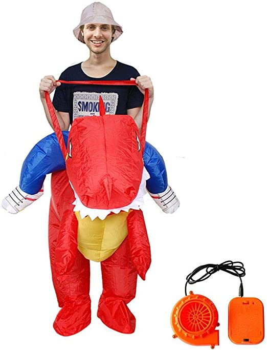jaspenybow Disfraz Inflable para Fiesta de Halloween, Ropa ...