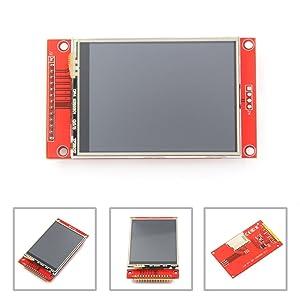 """HiLetgo ILI9341 2.8"""" SPI TFT LCD Display Touch Panel 240X320 with PCB 5V/3.3V STM32"""