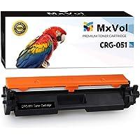 MxVol - Cartucho de tóner Compatible Canon 051 051H CRG-051 de Alto Rendimiento para impresoras láser Canon imageCLASS MF264dw, MF267dw, MF269dw, LBP162dw, LBP162dw, Color Negro