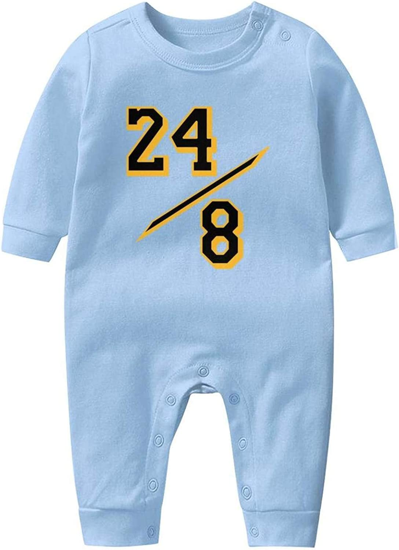 Casual Baby Crawling Suit Long-Sleeve Romper Bodysuit Mamba mumber 24