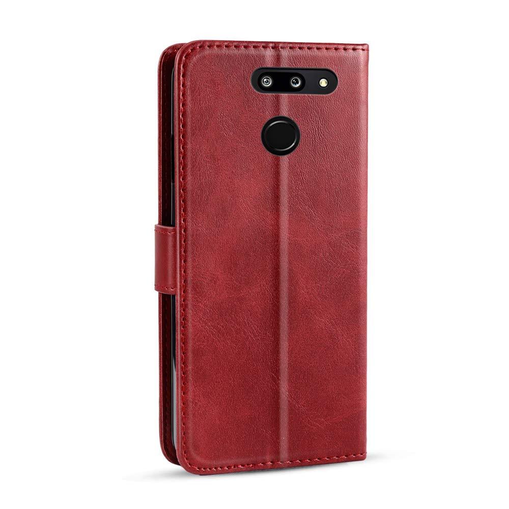 Casewin Funda para LG G8 LG G8 ThinQ, Carcasa Slim Folio ...
