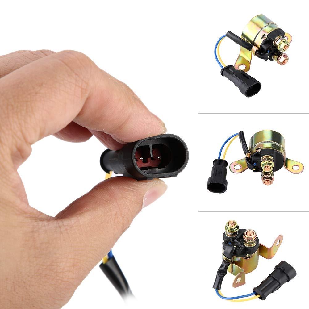 Rel/è Solenoide Avviamento 4010947 4012001 Starter Solenoid Relay Contactor Switch per RANGER 400 HO 700 TRAIL BOSS 330 500//800 RZR Sportsman 450//500