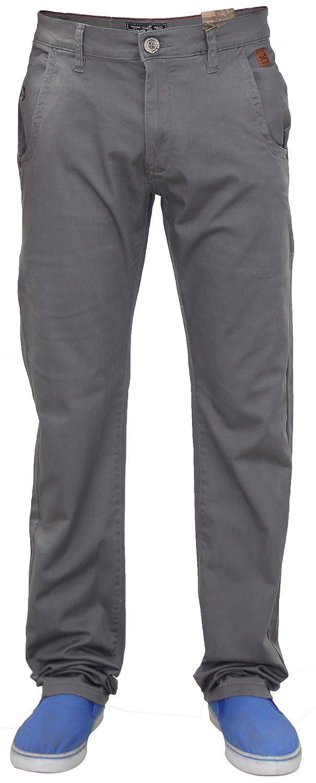 TALLA 38W / 34L. Pantalones de vestir, para hombre, del diseñador Jack South, elásticos, de corte recto