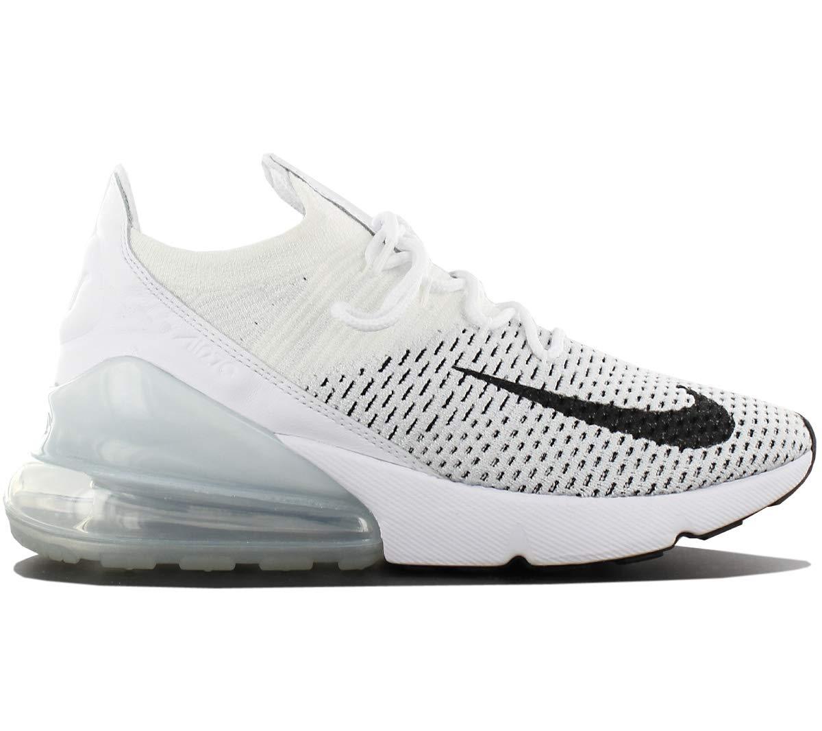 the latest 732e4 65a6e Nike Air Max 270 Flyknit Women's Shoes White/Black ah6803-100 (9 B(M) US)
