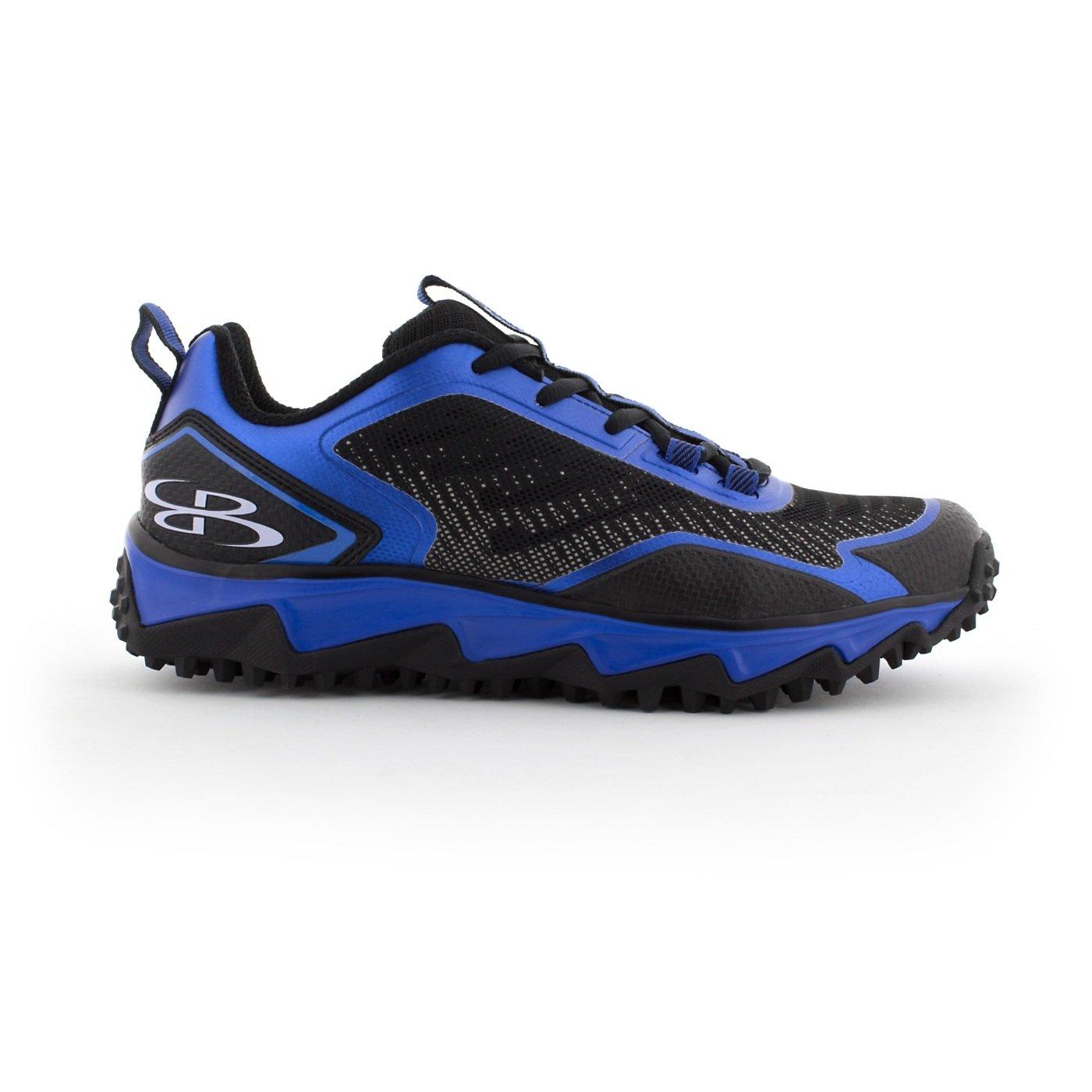 BoombahメンズBerzerk Turf Shoes – 13色オプション – 複数のサイズ B0769Y66V6 6.5|ブラック/ロイヤル(royal) ブラック/ロイヤル(royal) 6.5