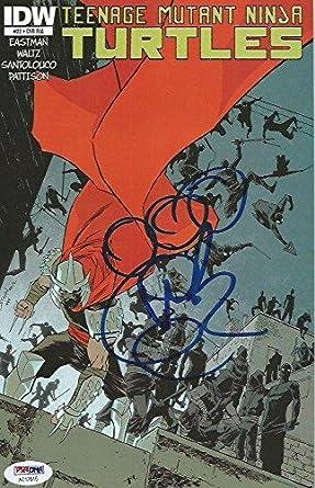 Vanilla Ice Teenage Mutant Ninja Turtles Signed Comic Book ...