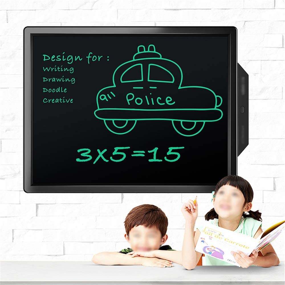 School and Office Yuybei LCD Tablet 20 Inches Colorful Doodle Board LCD Screen Writing Tablet Drawing Board for All Ages for Home Color : Pink, Size : 20 inches