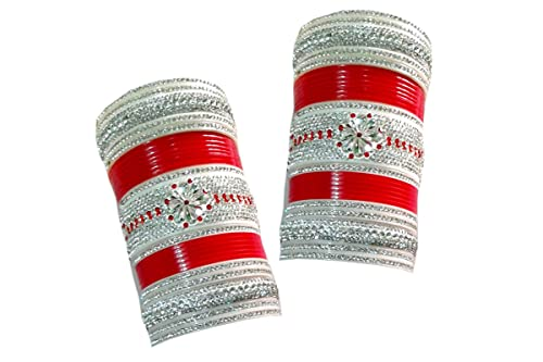 Vivah Bridal Chura Plastic Diamond Chudas Pack of 60 Best