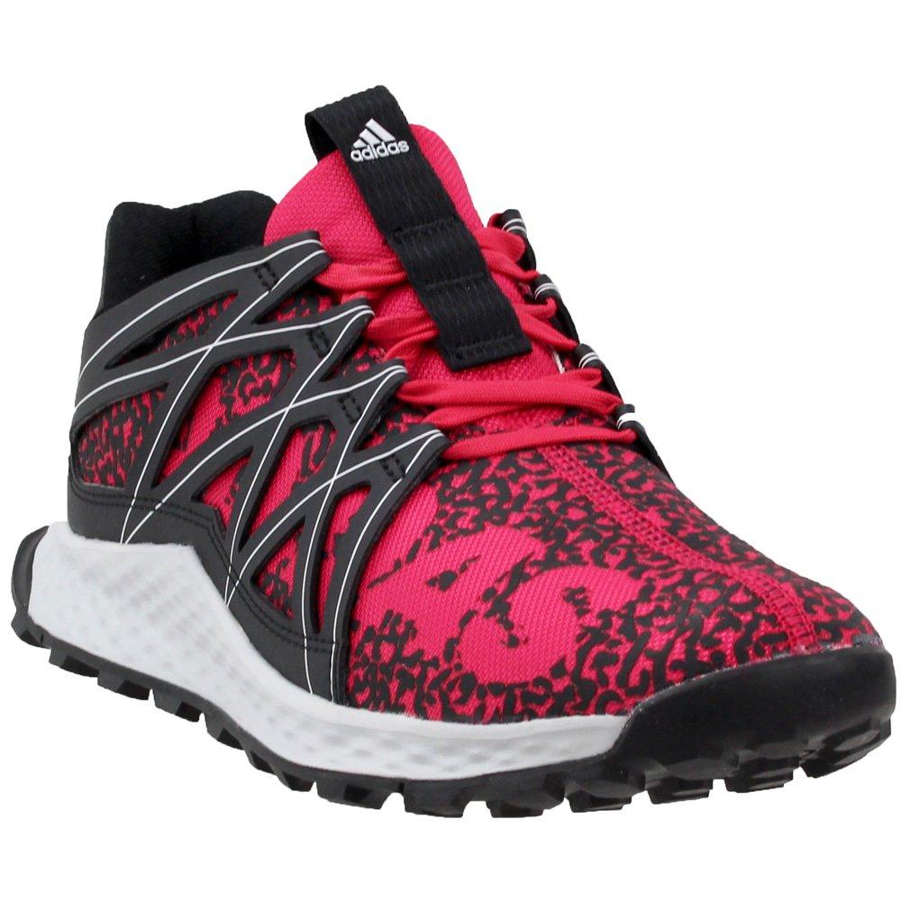 adidas Women's Vigor Bounce w, Black/Energy Pink/Light Solid Grey, 5 Medium US