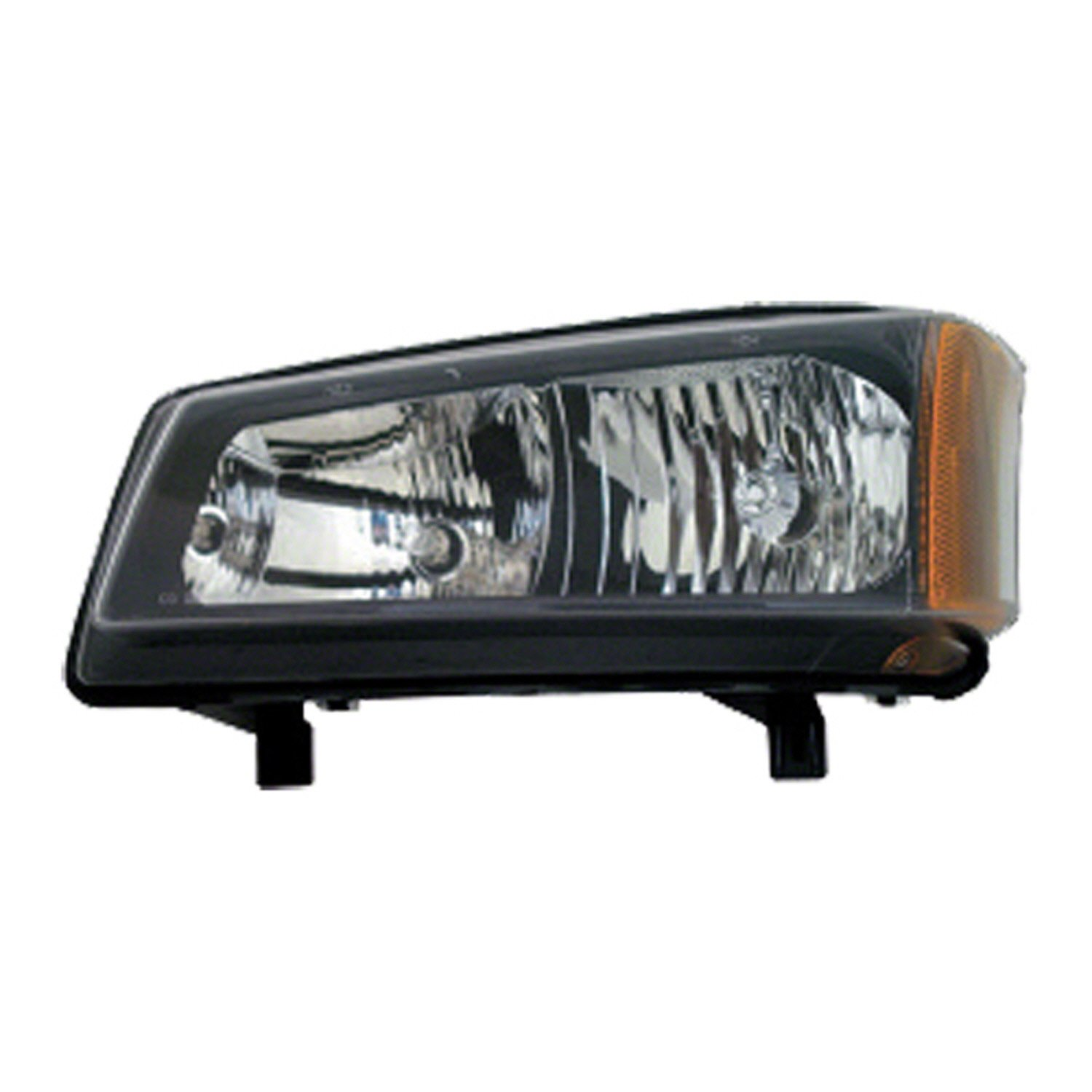 OE Replacement Headlight Assembly CHEVROLET AVALANCHE 2003-2004 Multiple Manufacturers GM2502224C Partslink GM2502224