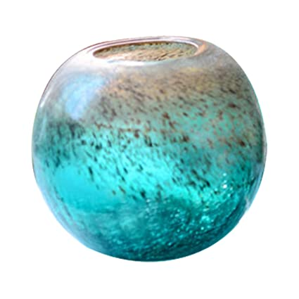 Amazon Jtk Ice Crack Ball Ornaments Stained Glass Vase