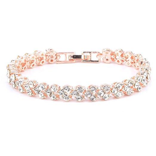 22cf0dbf8968d Amazon.com: Women's Bracelet Bracelet Laimeng Roman Style Woman ...