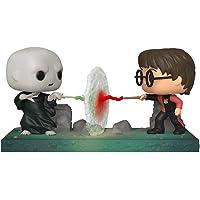Funko- Pop Moment Potter-Harry VS Voldemort Figura Coleccionable, Multicolor (48070)
