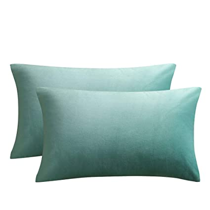 5d24282510aa Image Unavailable. Image not available for. Color  JUSPURBET Velvet Pillow  Covers ...