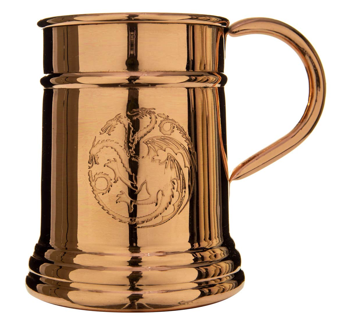 Game of Thrones Collectible Copper Stein (Targaryen)