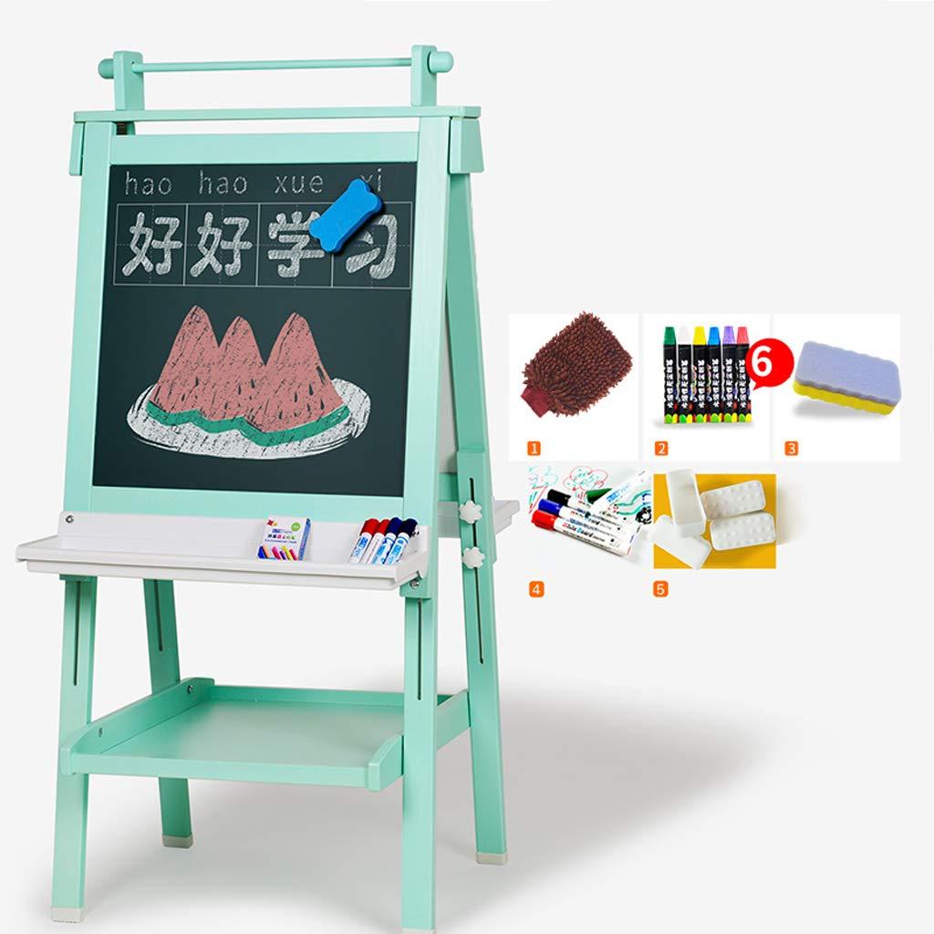 イーゼル - 子供の描画ボード両面磁気ブラケット小さな黒板の書き込みボード子供の描画ボードの高さ調節可能 (色 : C)  C B07S4GX7Z1