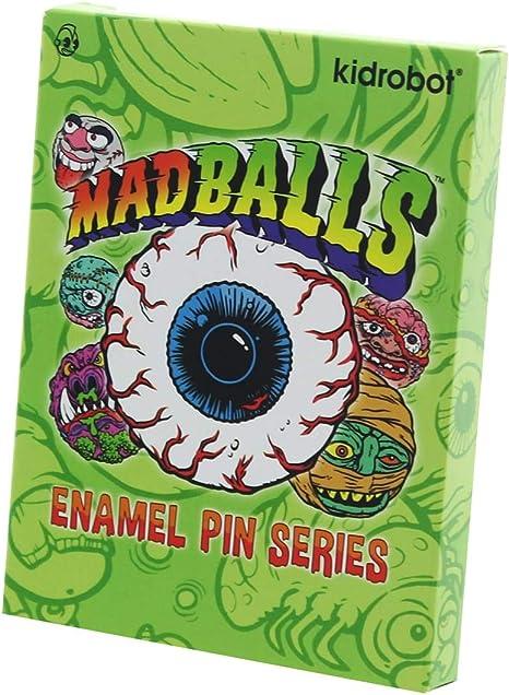 Kidrobot madballs Enamel Pin Série 1-contusion frère