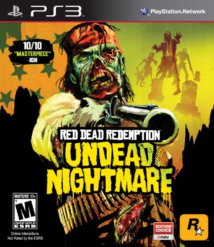 Red Dead Redemption: Undead Nightmare - Playstation 3 (The Best Zombie Games For Ps3)