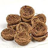 Factory Direct Craft Hand Made Natural Twig Bird's Nests   12 Twig Nests