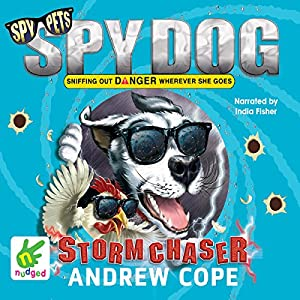 Spy Dog: Stormchaser Audiobook