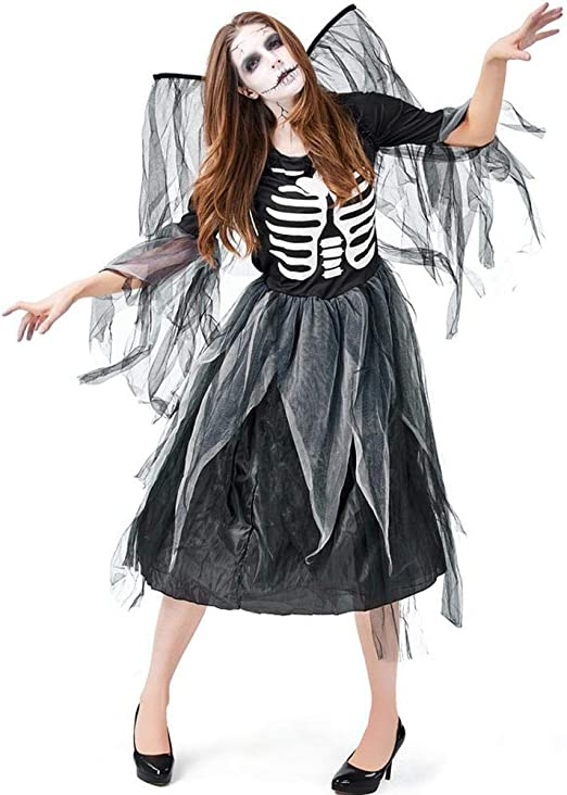 LHDDD Disfraz de Halloween. Disfraz de Carnaval Adulto Zombie ...
