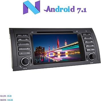 Android 7.1 Autoradio, Hi-azul 1 DIN Radio de Coche In-Dash ...
