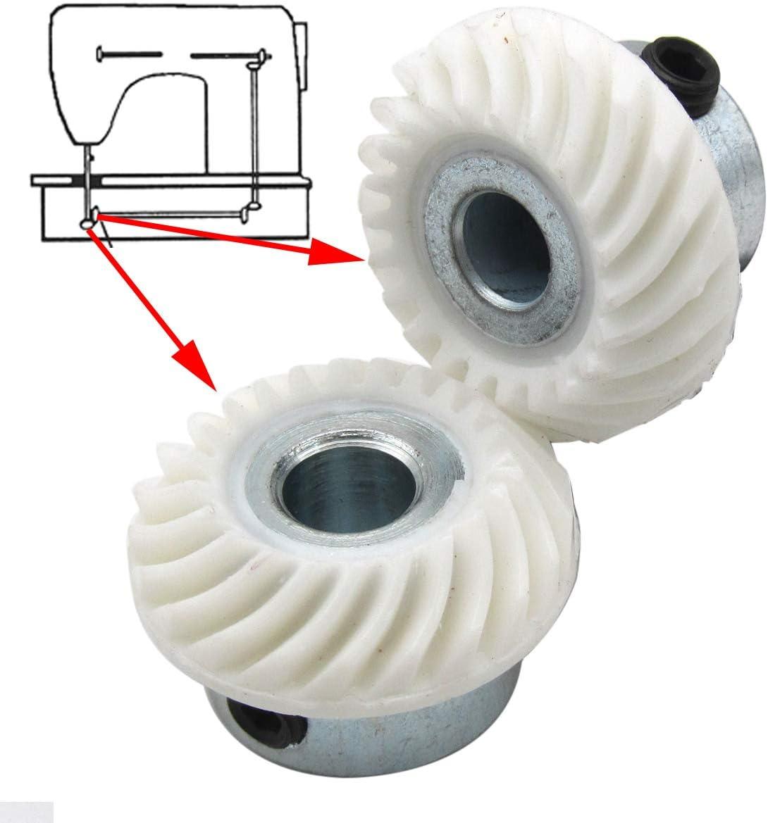 New Lower Horizontal Shaft Gear # 163997 fits Singer 500 800 6100 7100 Series