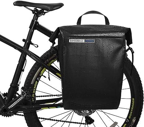 YUYAXBG Moda Bolsa Trasera para Bicicleta, Soltero. Impermeable ...