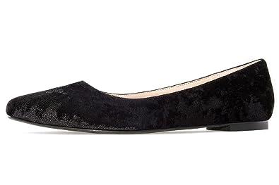 Damen Slipper - Beige Schuhe in Übergrößen, Größe:43 Andres Machado