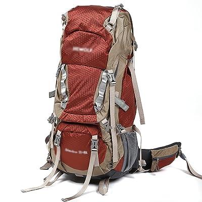 sac à dos randonnée sacs à dos d'alpinisme hommes et les femmes en plein air imperméables Voyage pliage sac à dos équitation randonnée 65L Sacs à dos de randonnée